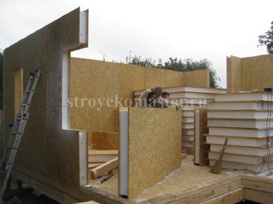 Сип панели для строительства частных домов.