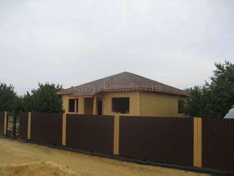 Стройвариант дома из Сип панелей